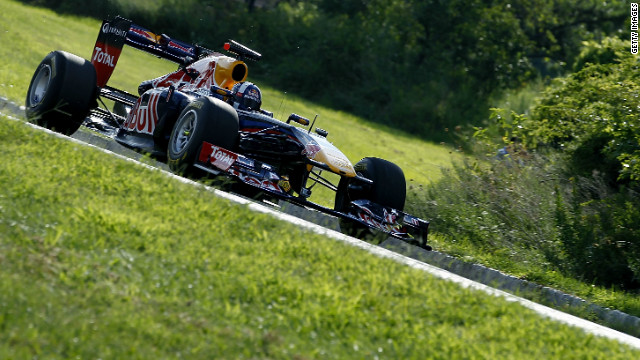 Former F1 driver David Coulthard was behind the wheel, causing a stir as he sped through Liberty State Park.