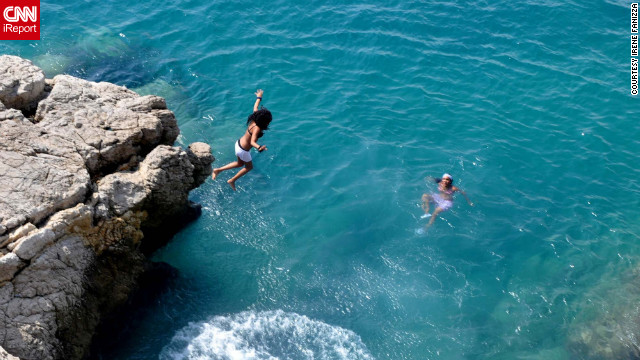 The <a href='http://ireport.cnn.com/docs/DOC-826524'>clear blue waters of the Mediterranean Sea</a> are a major draw in Nice.