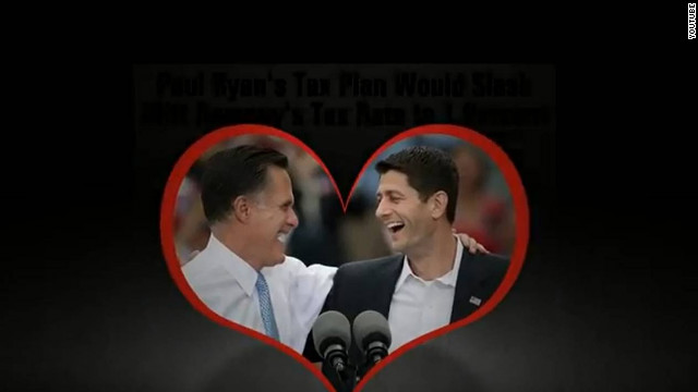 Super PAC ad hammers Romney on taxes