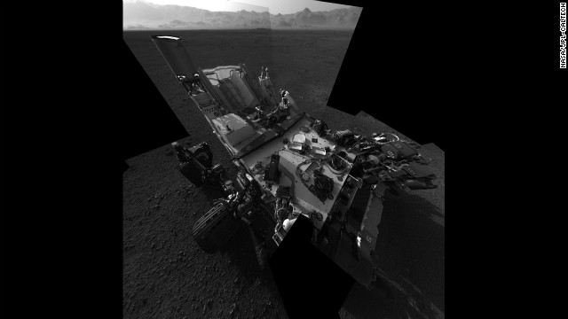 Curiosity 'interrogates' Martian rock with laser