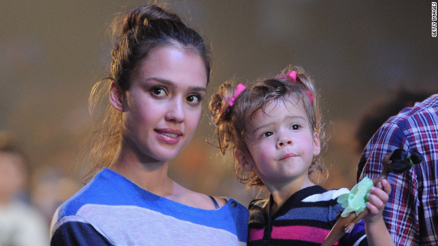 Jessica Alba on her mommy 'moment of terror'