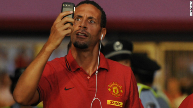 Rio Ferdinand was another player who opted not to wear the Kick It Out T-shirt. The Manchester United defender is reportedly involved in talks to set up a separate black footballers' association.