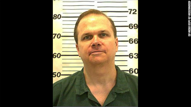Mark David Chapman is imprisoned for the December 8, 1980, slaying of John Lennon.