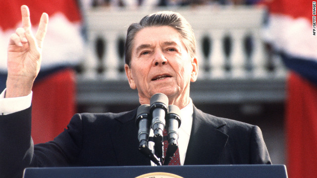 Ronald Reagan was famous for witty one-liners in debates. In 1984 the 73-year-old said, &quot;I will not make age an issue of this campaign. I am not going to exploit, for political purposes, my opponent's youth and inexperience.&quot; His opponent, Walter Mondale, was 56 at the time.