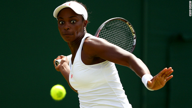 She also possesses a ferocious forehand which has been used to quell many oppenents this year. A strong showing at Wimbledon, where she reached the third round, was followed by her best ever performance at Roland Garros, eventually losing to U.S. Open champion Samantha Stosur in the fourth round.