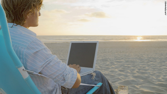Experts say taking a vacation can benefit your employer.