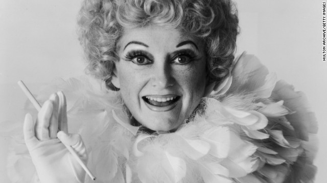 Phyllis Diller poses for a portrait in 1981 for her book &quot;The Joys of Aging &amp; How to Avoid Them.&quot; The pioneering comedian died at her home in Los Angeles on Monday, August 20. She was 95.