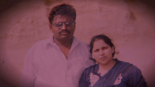 This woman in Pakistan was killed by her husband after he had accused her of flirting with other men.