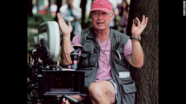 British-born director Scott on the set of his film &quot;Man on Fire&quot; in Mexico City in 2003. 