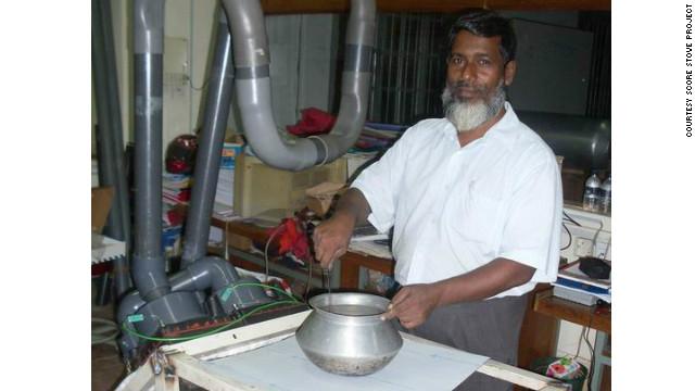 Una estufa que cocina y produce electricidad a través de ondas sonoras
