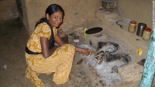 The Score-Stove is also more efficient helping limit exposure to cooking smoke. According to the World Health Organization, nearly three billion people still rely on biomass stoves which cause around two million premature deaths annually.<br/><br/>