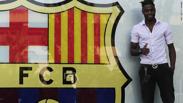 Arsenal to Barcelona<br/><br/>For the second year in a row, a key Arsenal player has been lured to Spain by Barcelona. Last August it was Cesc Fabregas, this time it's Cameroon midfielder Alex Song. The 25-year-old moved for $23.7 million on a five-year contract, with a release clause of $100 million.
