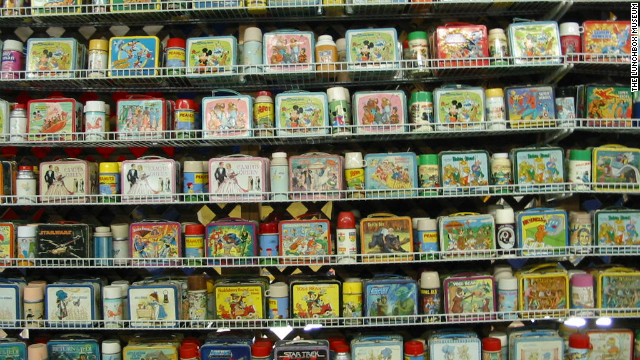 The Lunchbox Museum in Columbus, Georgia, claims to have the largest collection of school lunchboxes in the world, with some 2,000 pieces on display.