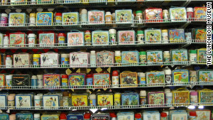 The Lunchbox Museum in Columbus, Georgia, claims to be the largest of its kind, with some 2,000 pieces on display.