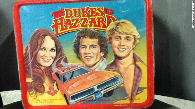 "This ""Dukes of Hazzard"" lunchbox in 1980 from Aladdin rode the wave of the TV series' popularity."