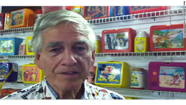 "Allen Woodall Jr. founded the Lunchbox Museum in 1990. Lunchboxes ""really bring back a lot of great memories to a lot of people,"" he says."