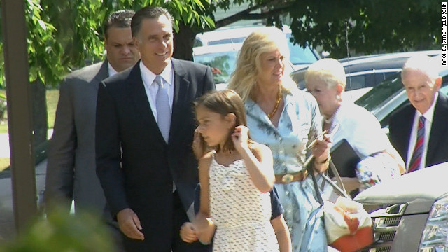 My Take: Romney should take reporters to church more often