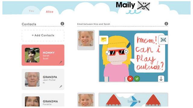 Maily, un correo electrónico seguro para niños