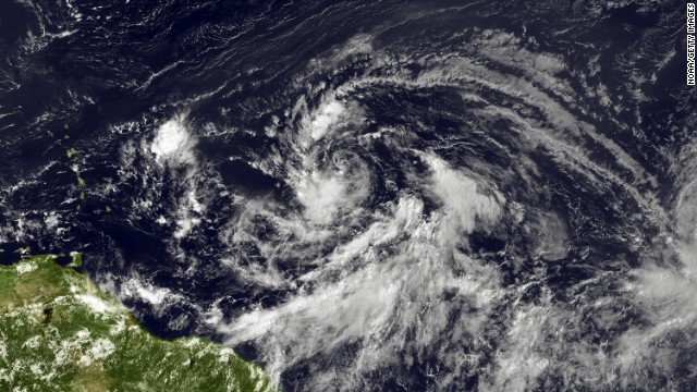 Tropical Storm Isaac forms in Atlantic, could become hurricane
