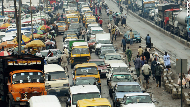 Lagos is one of the world's fastest growing megacities. With a population of some 15 million people, the sprawling city is bigger than London, Buenos Aires, and New York.
