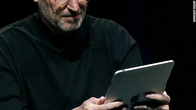 Un audio muestra cómo concebía Steve Jobs a la iPad en 1983