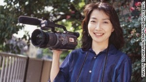 Japanese journalist Mika Yamamoto. 