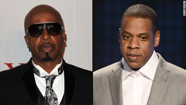 "Yeah, we couldn't believe it either. MC Hammer reportedly took offense to Jay-Z guest-rapping in a Kanye West song (""So Appalled"") that ""Hammer went broke so you know I'm more focused/I lost 30 mill so I spent another 30/Cuz unlike Hammer 30 mill can't hurt me."" Hammer took it to where all celebs take their beefs now -- Twitter -- and released a diss track, ""Better Run Run."""