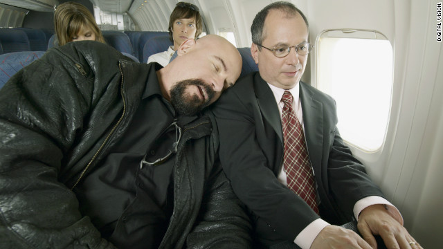 Business travel can be particularly stressful, say experts.