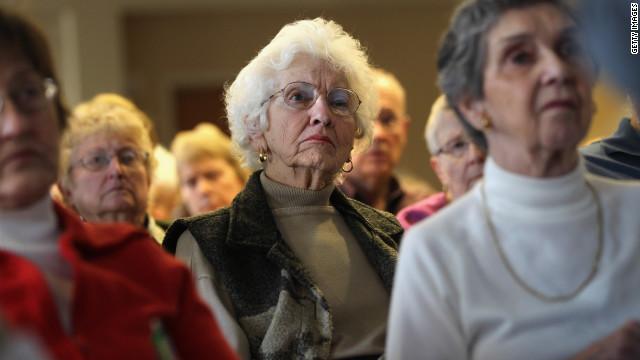 Seniors attend a
