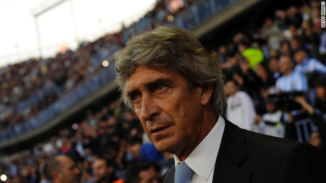 Last week the 59-year-old Manuel Pellegrini signed a three-year contract with Manchester City and will begin his role as Roberto Mancini's successor on June 24.