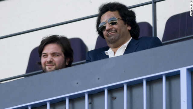 Sheikh Abdullah Al Thani (right) purchased Spanish La Liga team Malaga in June 2010 and proceeded to spend millions bringing top players to the Costa del Sol. 