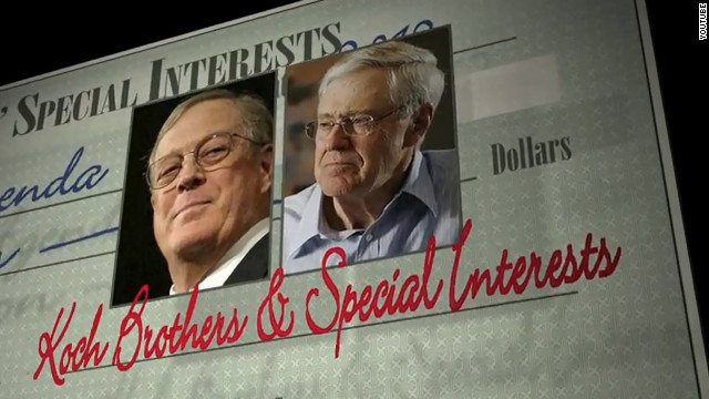 Group targets Koch brothers on cable ads