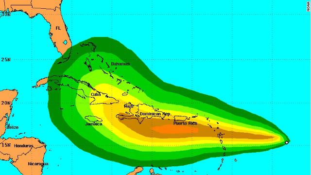 La tormenta tropical «Isaac» podría convertirse en huracán en 48 horas