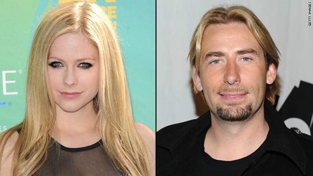 Avril Lavigne's engaged to Chad Kroeger