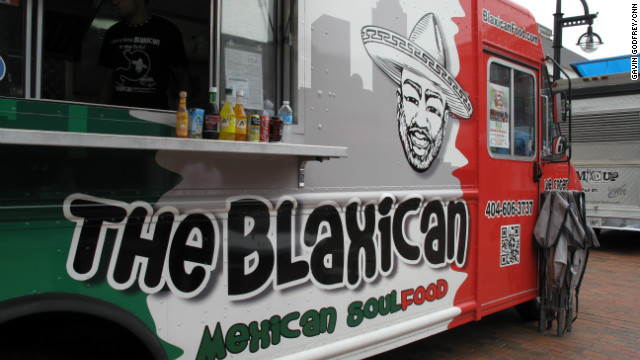 The Blaxican: a man and his food truck