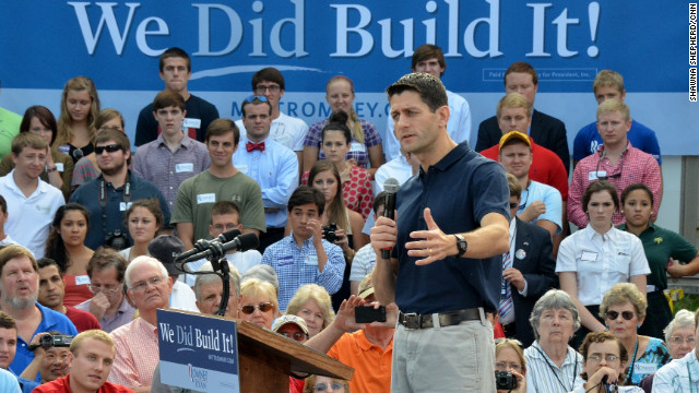 Ryan builds on Obama comment in Roanoke