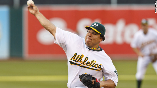 Oakland pitcher Colon suspended 50 games after testosterone test