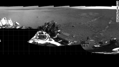 Mars rover passes first driving test