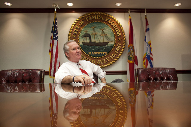 Tampa Mayor Bob Buckhorn says he doesn't expect police raids at strip clubs during the convention.
