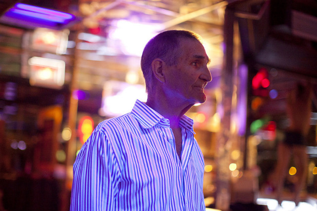 Joe Redner, owner of Mons Venus, is known as Tampa's