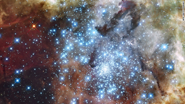 """La nébula 30 Doradus: el """"nido"""" de miles de estrellas"""