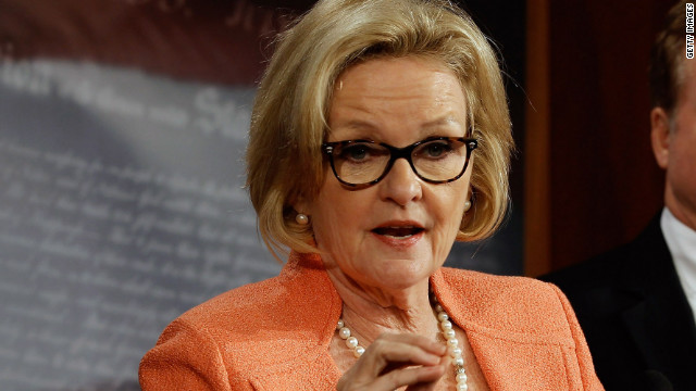 McCaskill the comedian: Missouri race 'boring'