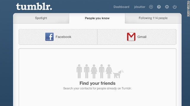 Twitter revoked access to a friend-finder feature on Tumblr.