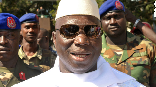 Gambian president Yahya Jammeh says all 44 people on death row will be executed by mid-September.