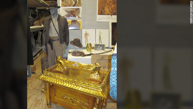 "The ""Ark of the Covenant"" -- nothing else comes close. Here's the raider's iconic costume and his most famous discovery from his first adventure, 1981's ""Raiders of the Lost Ark."""
