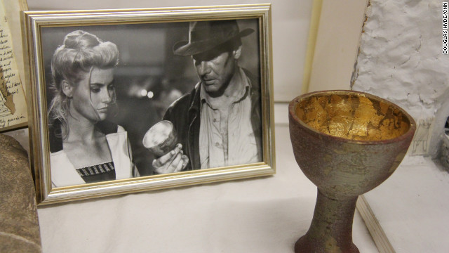 &quot;That's the cup of a carpenter.&quot; Indiana Jones and his father, Henry Jones, pursued the Holy Grail in the third adventure, &quot;Indiana Jones and the Last Crusade.&quot;
