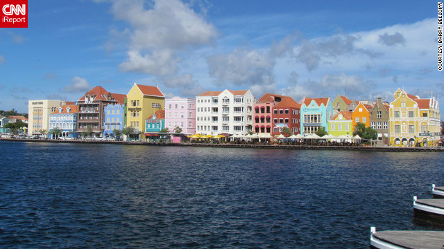 "Vactioning at one of the Caribbean's must-see islands, Barry Bellomy says he couldn't resist capturing this sight of Curacao. ""I was captivated by the beautiful colors of the buildings,"" he said.<br/><br/><a href='http://ireport.cnn.com/docs/DOC-829909'>See Barry's colorful photo on his iReport</a>."