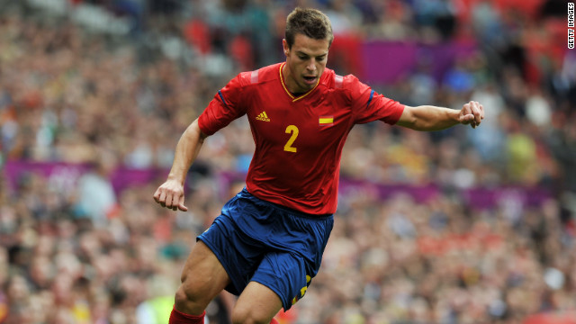Marseille to Chelsea<br/><br/>Chelsea took its spending in the current transfer window to over $100m with the signing of Spanish full back Cesar Azpilicueta from French team Marseille.