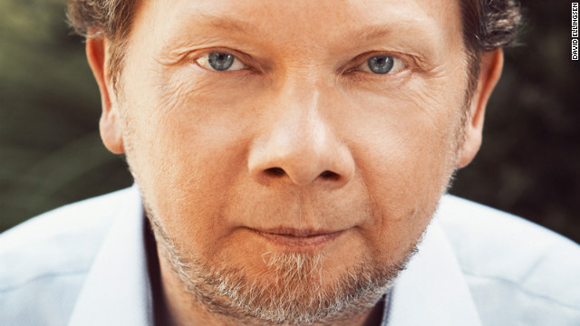Eckhart Tolle, author of