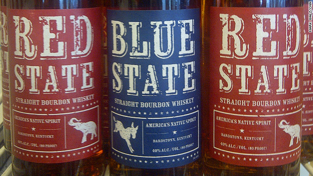 Bourbon maker stirs up party pride